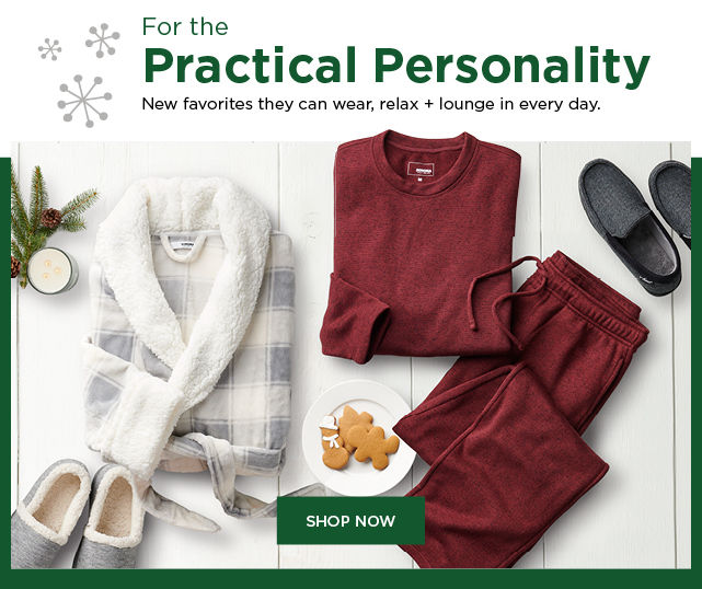 gifts for the practical personality. shop now.