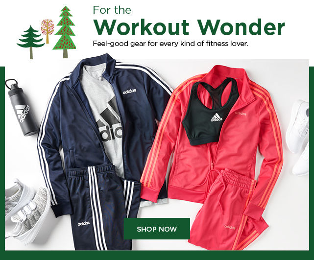 shop gifts for the workout wonder. shop now.
