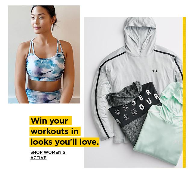 shop womens active