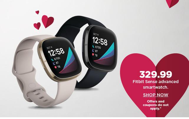 329.99 fitbit sense advanced smartwatch. shop now.