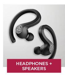 shop headphones and speakers