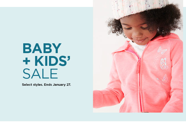 shop the kids and baby sale